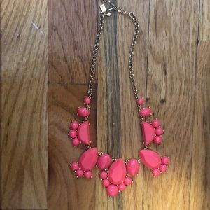 Late spade statement neclace